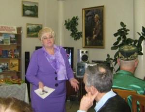 Приветствие депутата Н.В. Трубиной