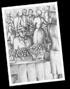"""Овощные ряды. """"Барахолка"""""""