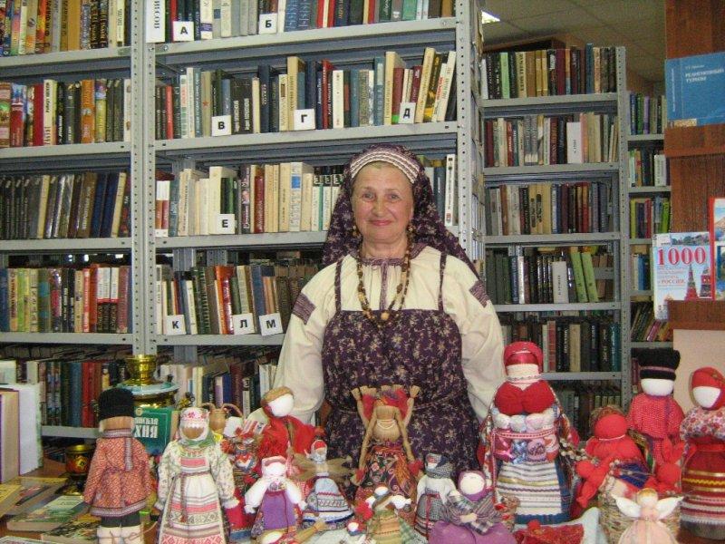 Кукольных дел мастерица Наталья Каноненко